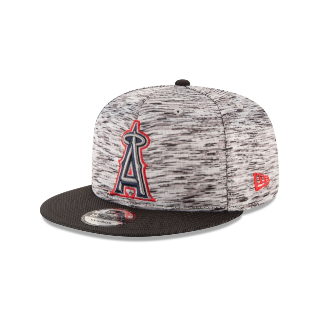 Anaheim Angels Shadow Faded  9Fifty OF Snapback Vista izquierda tres cuartos