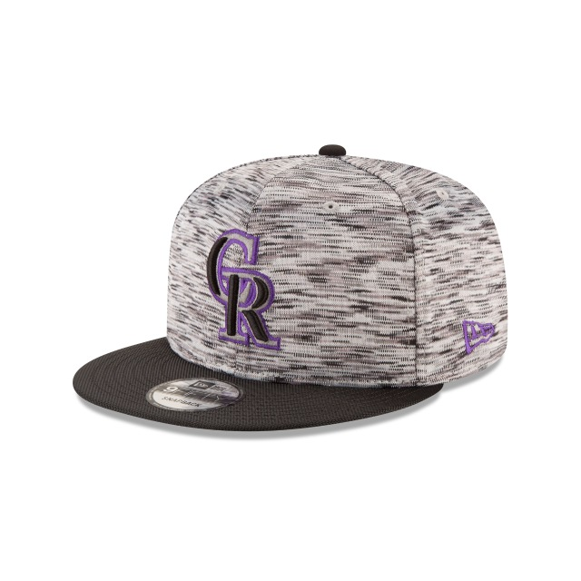 Colorado Rockies Stadium Collection 9Fifty OF Snapback Vista izquierda tres cuartos