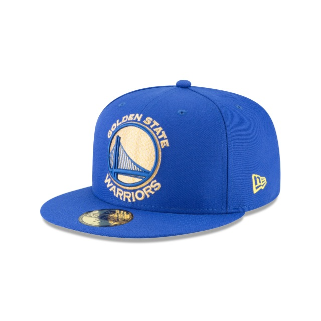 Golden State Warriors Squad Twist  59fifty Cerrada | Golden State Warriors Caps | New Era Cap