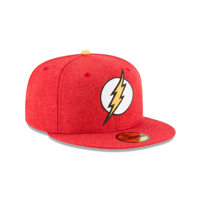 Flash Heather Hype Fit  59Fifty Cerrada Vista derecha tres cuartos