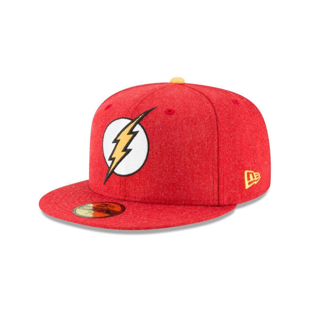 Flash Heather Hype Fit  59Fifty Cerrada Vista izquierda tres cuartos