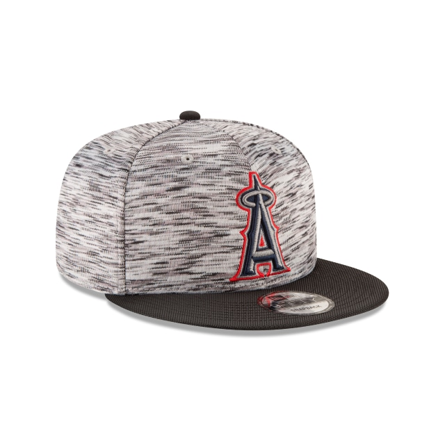 Anaheim Angels Shadow Faded  9Fifty OF Snapback Vista derecha tres cuartos