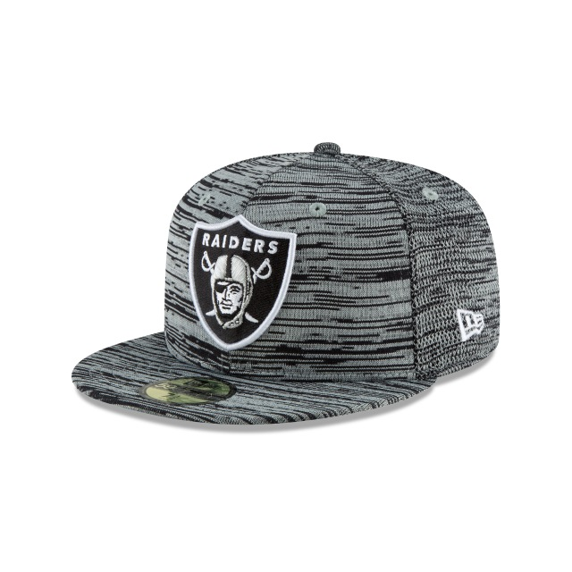 Oakland Raiders Engineered Fit 59fifty Cerrada | Oakland Raiders Caps | New Era Cap