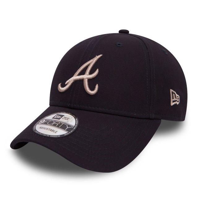 Atlanta Braves League Essential  9forty Strapback | Atlanta Braves Caps | New Era Cap