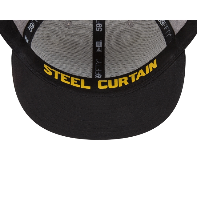 Pittsburgh Steelers Draft NFL 2018 59Fifty Cerrada