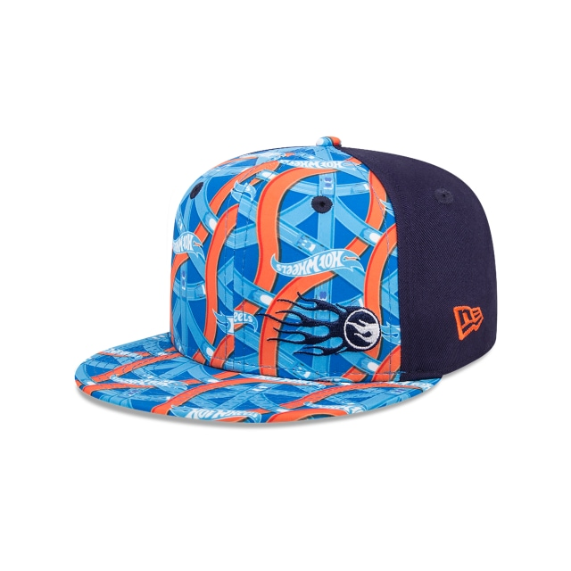 Hot Wheels Print Flame Niño 9fifty Of Snapback | New Era Cap