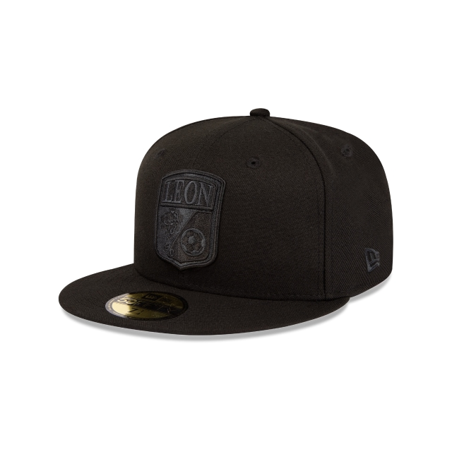 Club León Basics Black On Black  59FIFTY Cerrada | Gorras de Club León | New Era México
