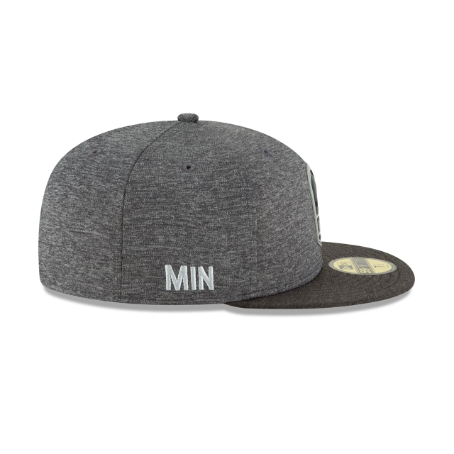 Minnesota Vikings Nfl Sideline Attack 59fifty Cerrada | Minnesota Vikings Caps | New Era Cap