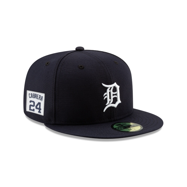 Gorra De Detroit Tigers Player Number 24 Miguel Cabrera  59fifty Cerrada | New Era Cap
