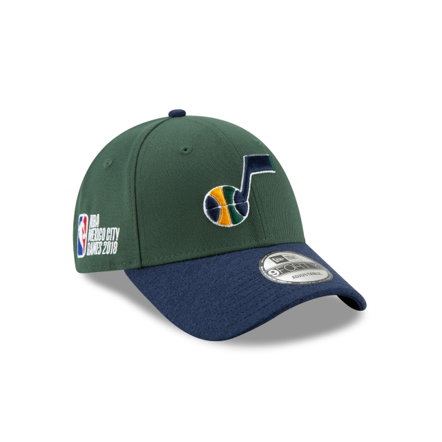 Utah Jazz Nba México City Sgames 2018 9forty Strapback | New Era Cap