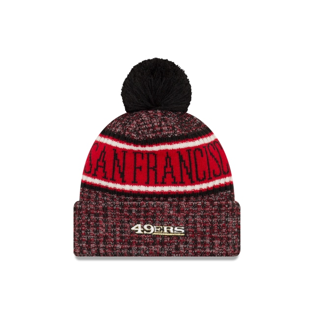 San Francisco 49ers Nfl Cold Weather 2018  Knit | San Francisco 49ers Caps | New Era Cap