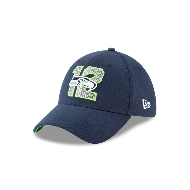 Gorra De Seattle Seahawks Nfl Draft 2019  39thirty Elástica | New Era Cap