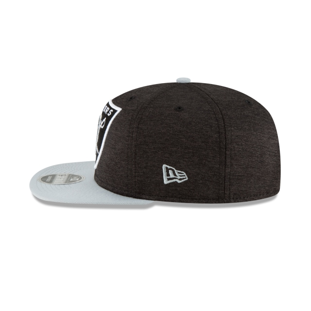 Oakland Raiders Heather Huge Snap  9fifty Of Snapback | Oakland Raiders Caps | New Era Cap