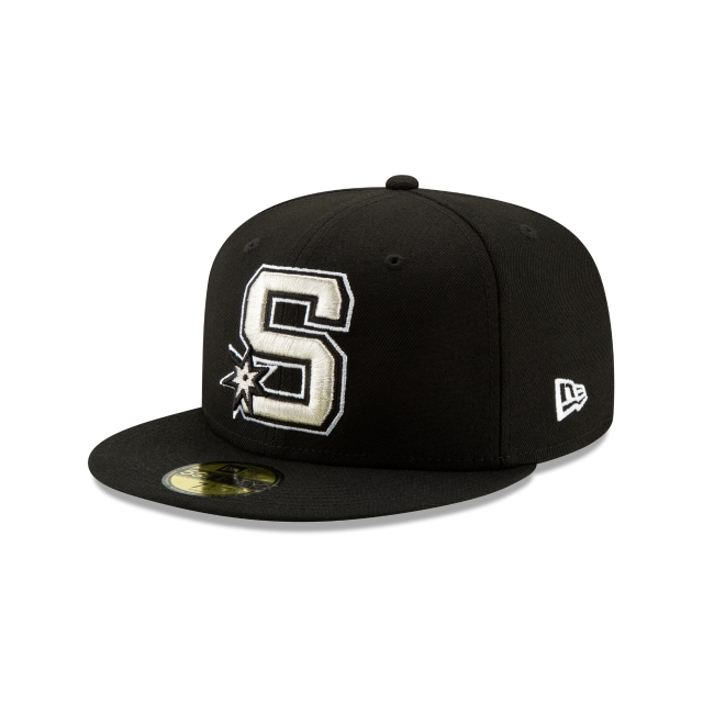 San Antonio Spurs NBA Back HaLF 2019  59FIFTY Cerrada | Gorras de San Antonio Spurs | New Era México