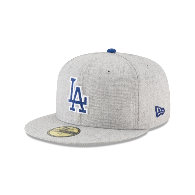 Gorra De Los Angeles Dodgers Heather Hype  59fifty Cerrada | New Era Cap