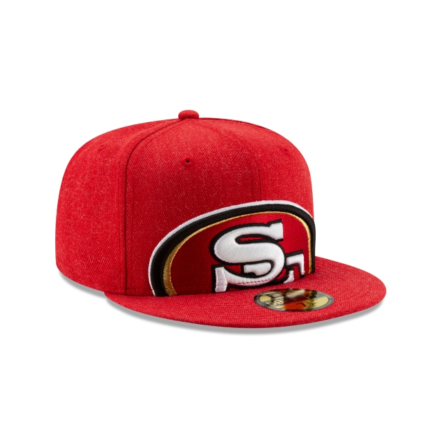 San Francisco 49ers Logo Flipped  59FIFTY Cerrada | Gorras de San Francisco 49ers | New Era México
