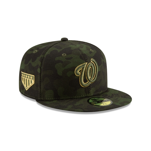 Washington Nationals Mlb Armed Forces Day 2019  59fifty Cerrada | Washington Nationals Caps | New Era Cap