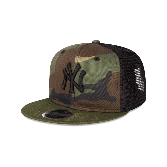 New York Yankees Washed Camo  9fifty Snapback | New Era Cap