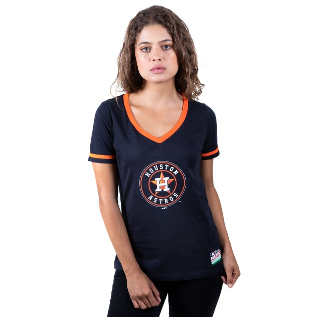 Playera Manga Corta de Houston Astros MLB Mexico Series 2019 de Mujer | Houston Astros MLB Mexico Series 2019 | New Era México