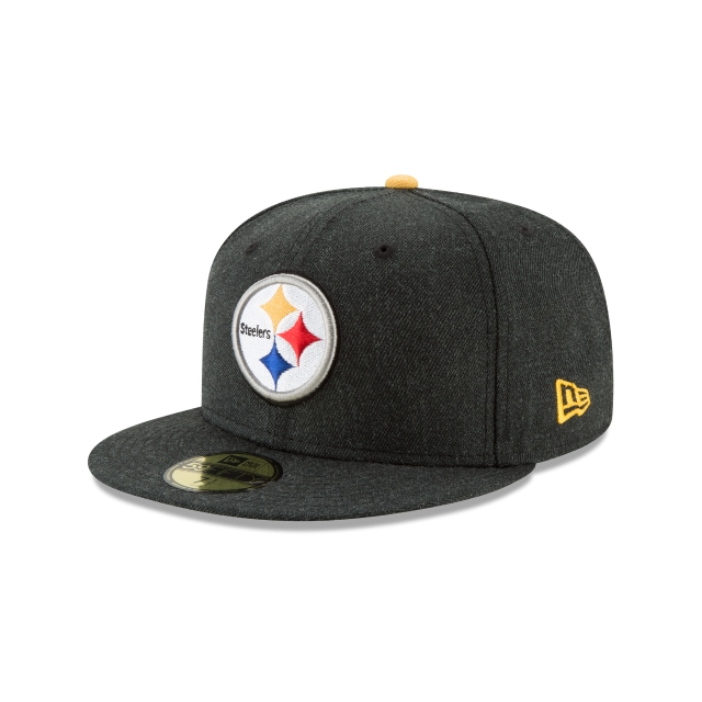 Gorra De Pittsburgh Steelers Heather Hype  59fifty Cerrada | New Era Cap