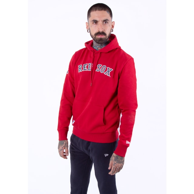 Boston Red Sox Jersey Script  Sudadera | New Era Cap
