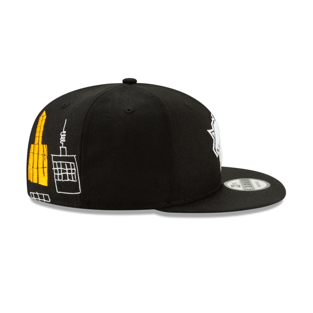 New York Knicks Jean Michel Basquiat  9fifty Snapback | New York Knicks Caps | New Era Cap