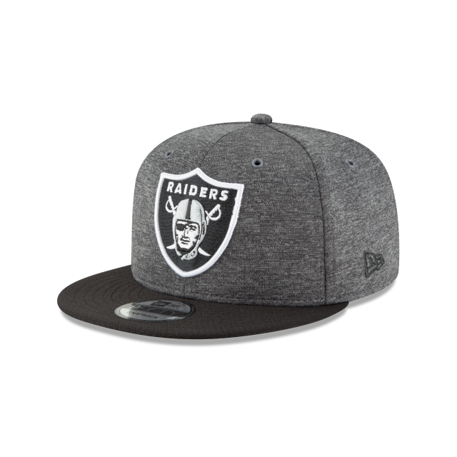 Oakland Raiders Nfl Sideline Defend 2018 Niño 9fifty Snapback | Oakland Raiders Caps | New Era Cap