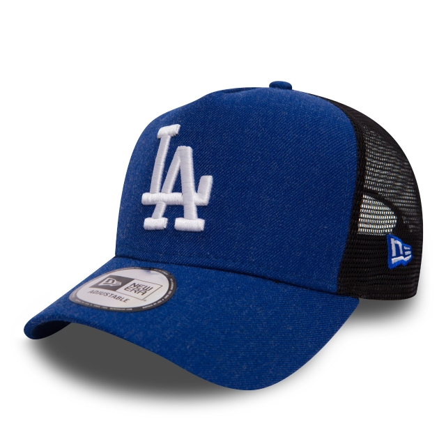 Los Angeles Dodgers Seas  9FORTY AF Trucker Strapback | Gorras de Los Angeles Dodgers | New Era México