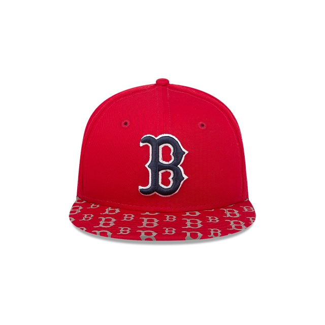 Boston Red Sox Reflective Logos Niño 9fifty Of Snapback | Boston Red Sox Caps | New Era Cap