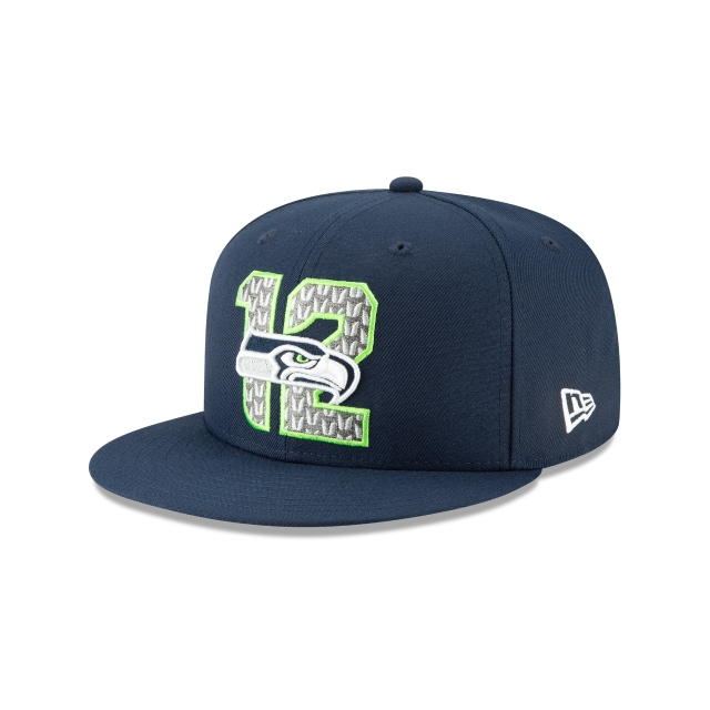 Gorra De Seattle Seahawks Nfl Draft 2019  59fifty Cerrada | New Era Cap