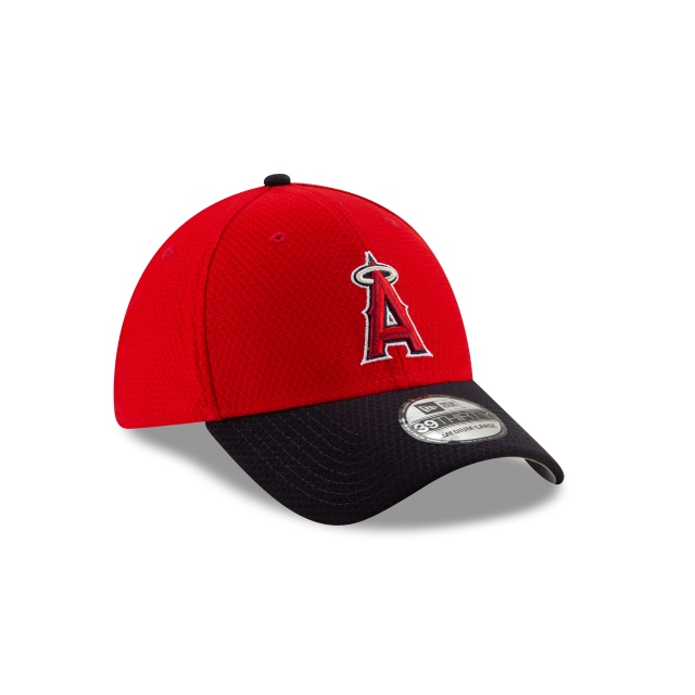 Los Angeles Angels Mlb Batting Practice 2019  39thirty Elástica | Los Angeles Angels Caps | New Era Cap