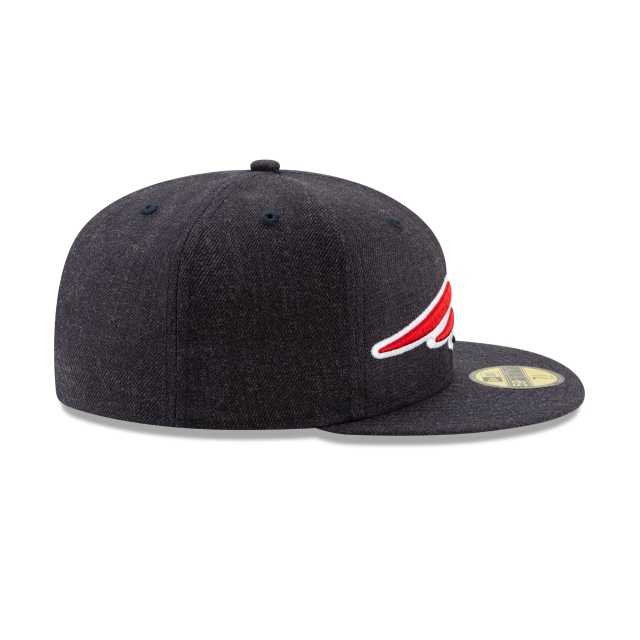 Gorra De New England Patriots Logo Flipped  59fifty Cerrada | New England Patriots Caps | New Era Cap