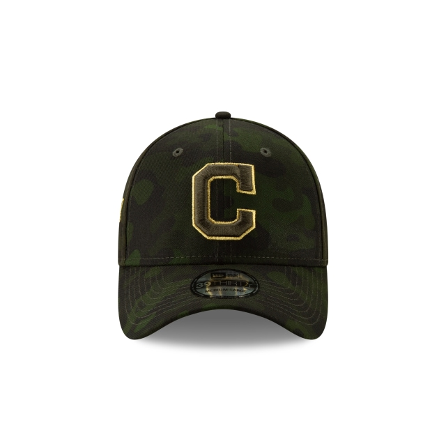 Cleveland Indians MLB Armed Forces Day 2019  39THIRTY Elástica | Gorras de Cleveland Indians | New Era México