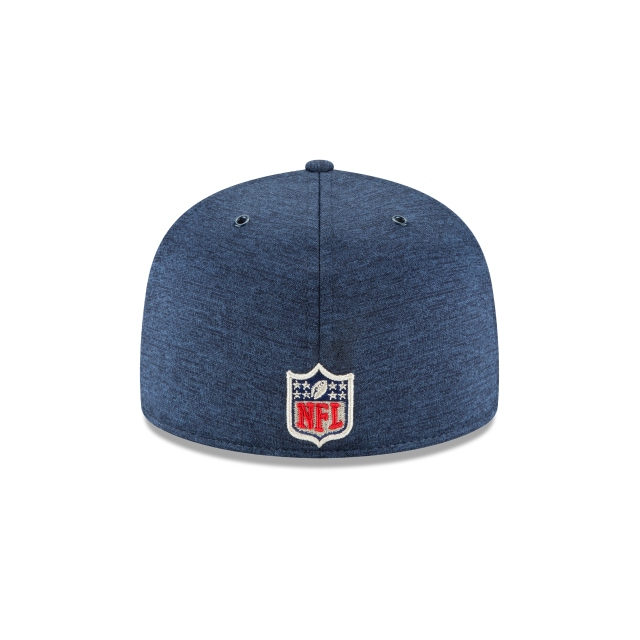 New England Patriots Nfl Sideline Defend 2018  59fifty Cerrada | New England Patriots Caps | New Era Cap