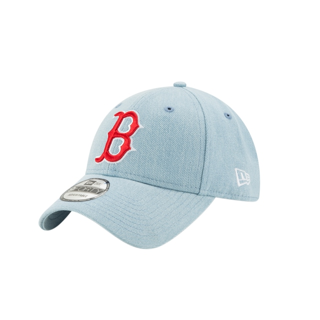 Boston Red Sox Denim Light  9forty Strapback | New Era Cap