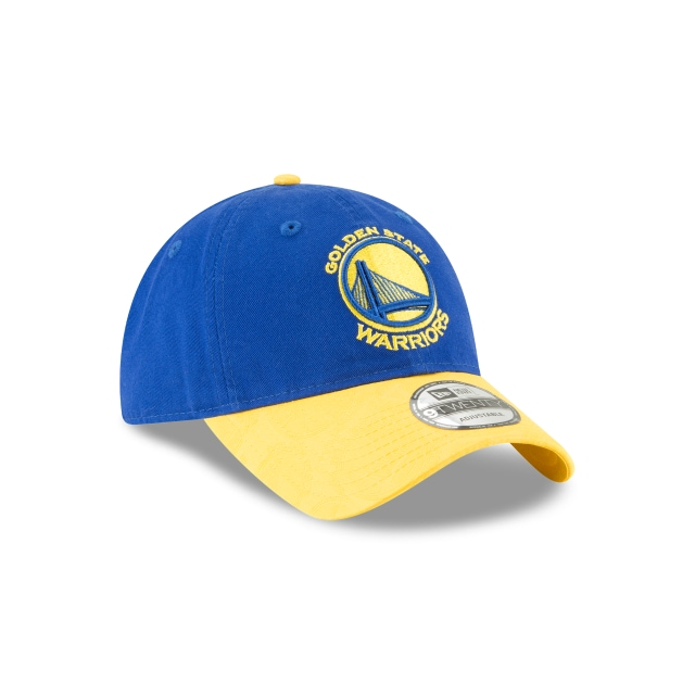 Golden State Warriors Mark Mixer Adjust  9twenty Strapback | Golden State Warriors Caps | New Era Cap