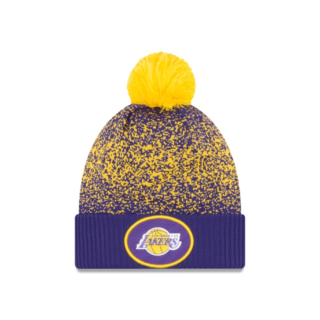 Los Angeles Lakers Nba On-court 2017  Knit | New Era Cap