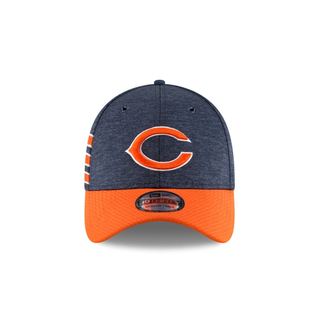 Chicago Bears Nfl Sideline Defend 2018  39thirty Elástica | Chicago Bears Caps | New Era Cap