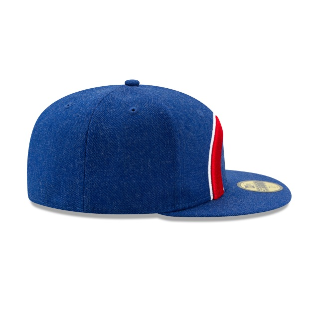 Gorra De Chicago Cubs Logo Flipped  59fifty Cerrada | Chicago Cubs Caps | New Era Cap