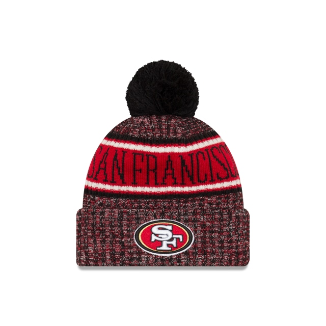San Francisco 49ers Nfl Cold Weather 2018  Knit | New Era Cap