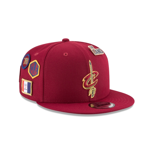 Cleveland Cavaliers Nba Draft 2018 9fifty Snapback | Cleveland Cavaliers Caps | New Era Cap