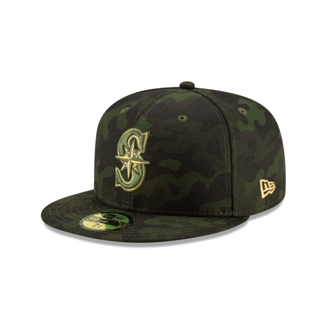 Seattle Mariners MLB Armed Forces Day 2019  59FIFTY Cerrada | Gorras de Seattle Mariners | New Era México