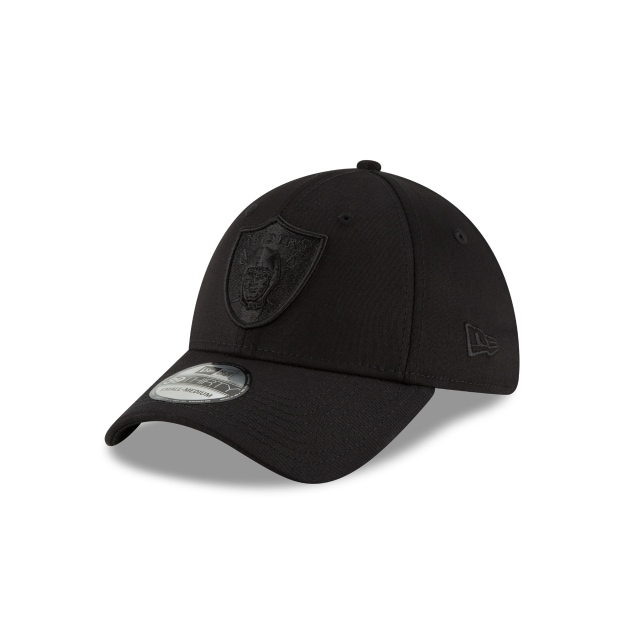 Oakland Raiders Black On Black  39thirty Elástica | New Era Cap