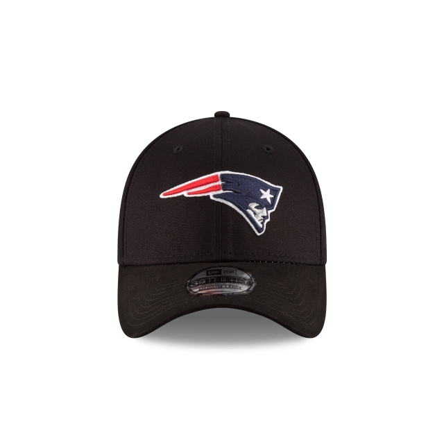 New England Patriots Black Base  39thirty Elástica | New England Patriots Caps | New Era Cap