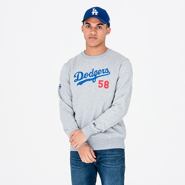 Los Angeles Dodgers Team Script Sudadera | New Era Cap