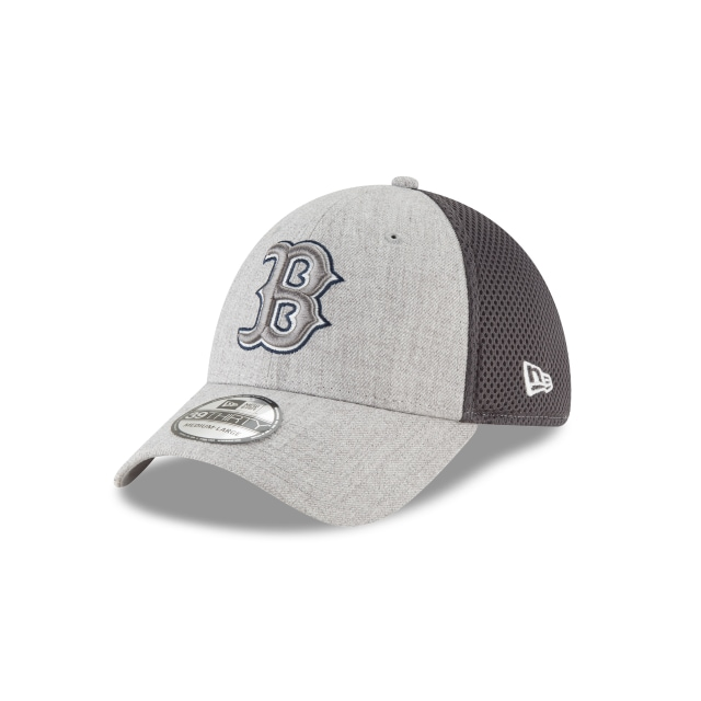 Boston Red Sox Heathered Neo  39thirty Elástica | New Era Cap