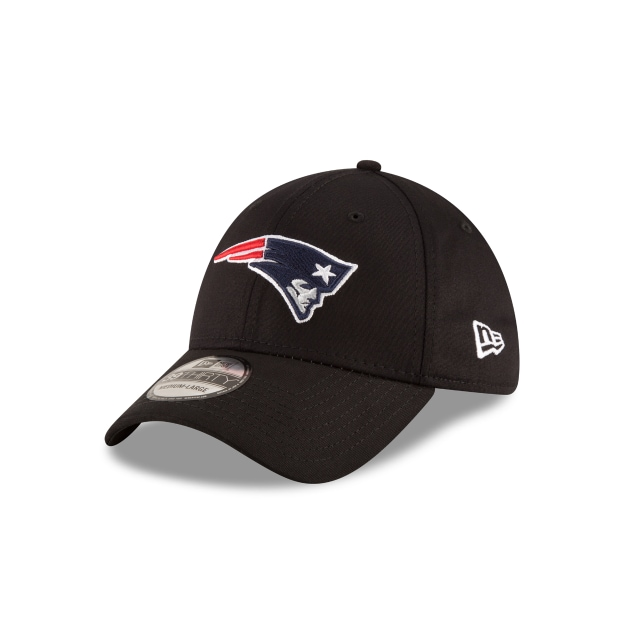 New England Patriots Black Base  39thirty Elástica | New Era Cap