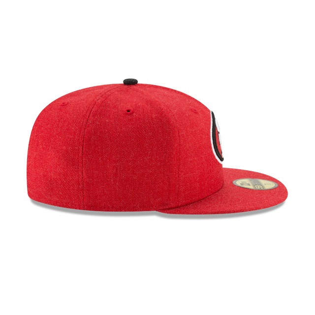 San Francisco 49ers Heather Hype Fit  59fifty Cerrada | San Francisco 49ers Caps | New Era Cap