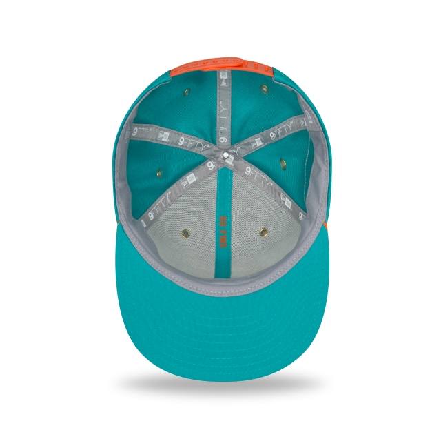 Miami Dolphins Nfl Sideline Defend 2018 9fifty Snapback | Miami Dolphins Caps | New Era Cap