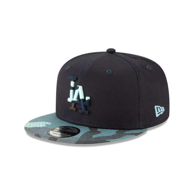 Los Angeles Dodgers Camo Essential  9fifty Snapback | Camo Essential 950 Caps | New Era Cap